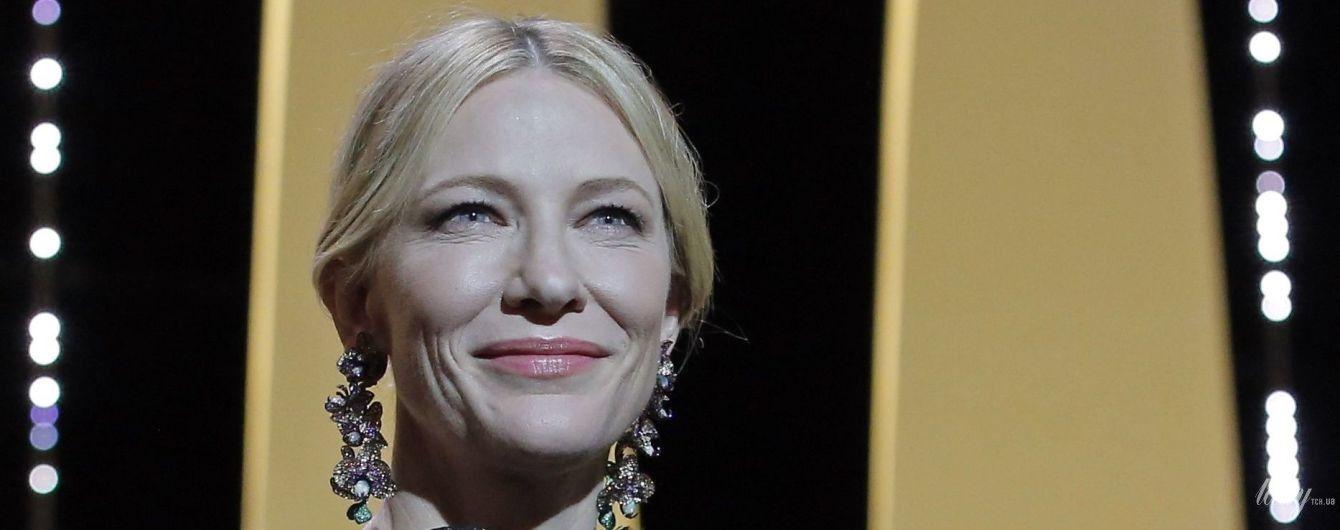 Кейт Бланшетт надела на Каннский кинофестиваль платье четырехлетней давности