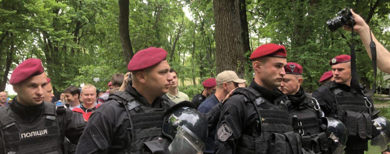 Поліція заявила про потерпілого під час сутички у Києві