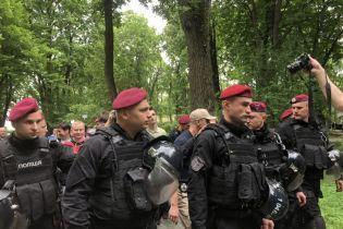 Полиция заявила о пострадавшем во время столкновения в Киеве