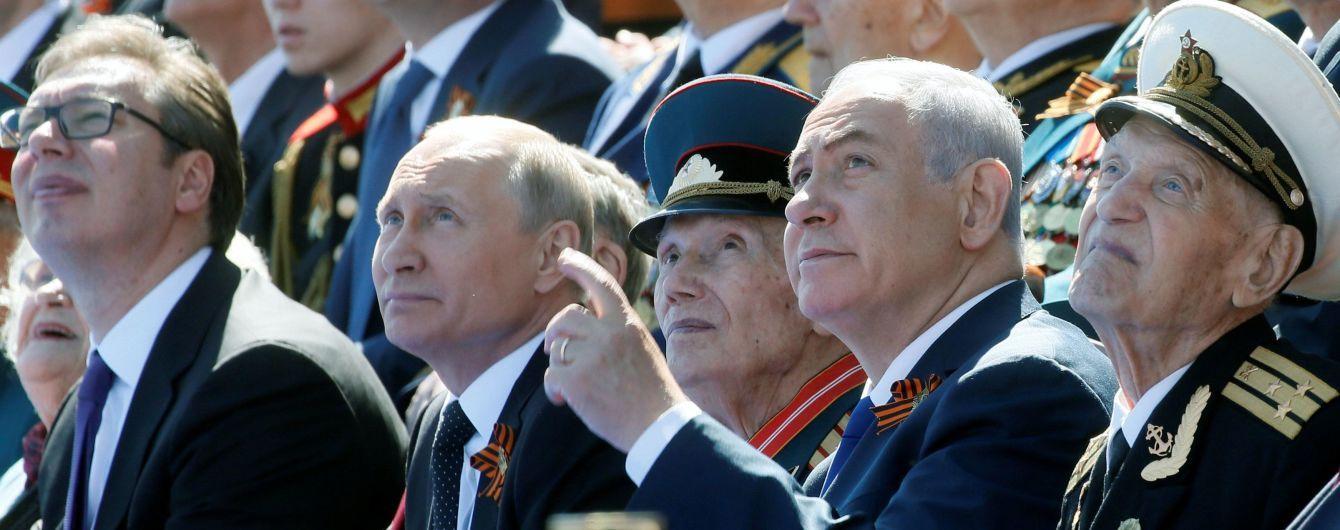 На парад у Москві завітали лише два іноземних лідери