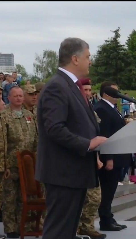 Порошенко висловив свою думку щодо ролі українців у Другій світовій війні