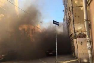 В Москве национал-большевики забросали дымовыми шашками посольство Латвии