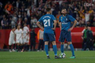 """""""Реал"""" програв """"Севільї"""" і """"забуксував"""" у боротьбі за друге місце Примери"""