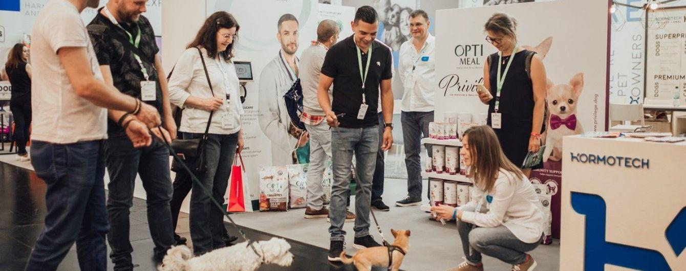 На международной выставке Interzoo бренд Optimeal презентовал линейку питания для собак Optimeal Privilege