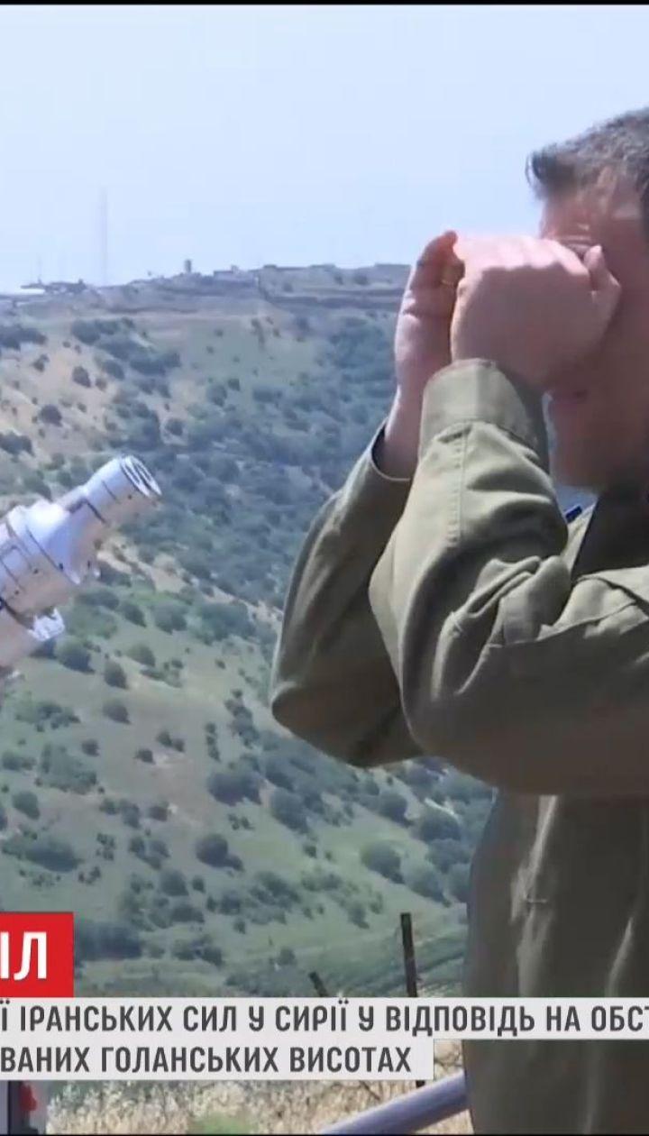 Ізраїль уночі завдав удару по іранських позиціях у Сирії
