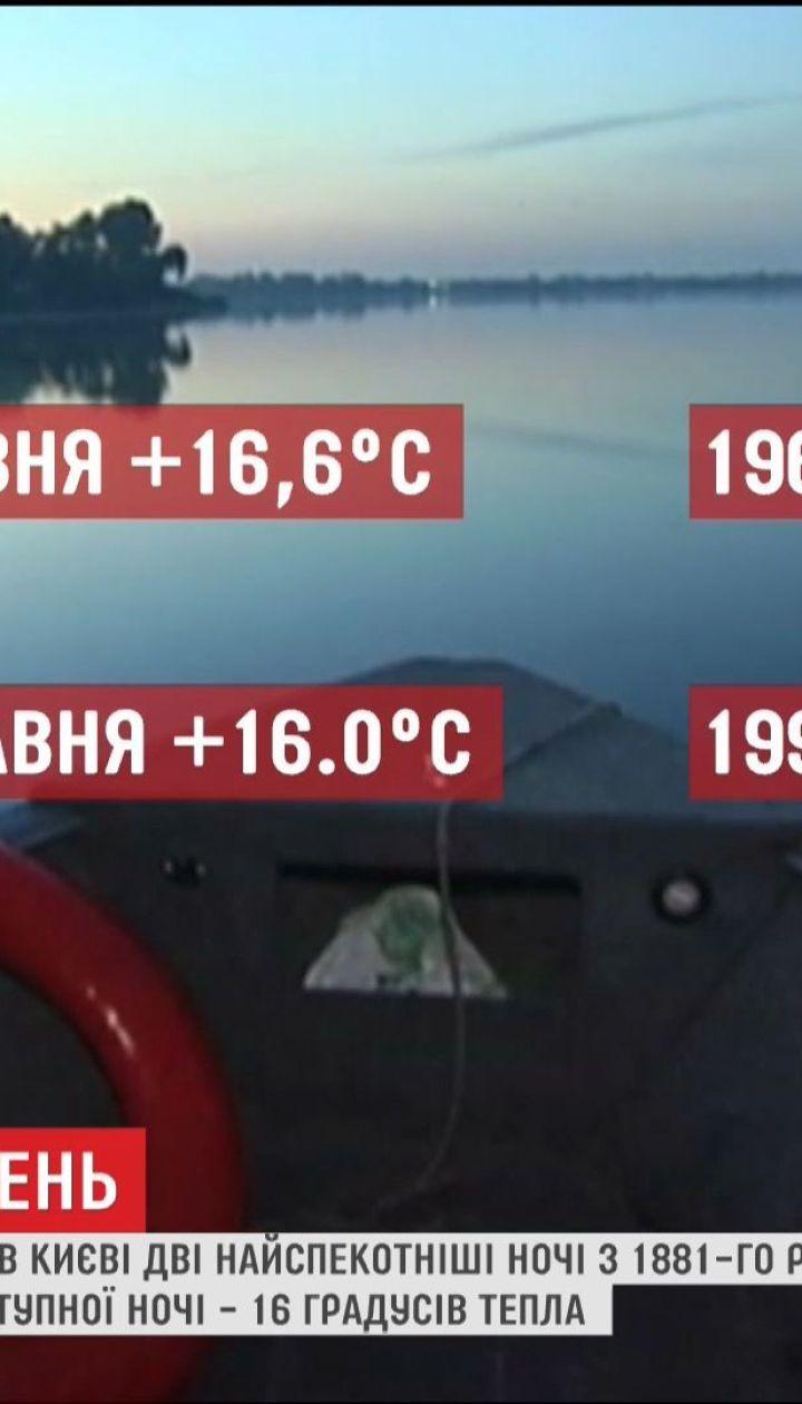 Метеорологи зафіксували найтеплішу ніч з 1881 року