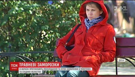 Украину после аномального тепла накроют заморозки