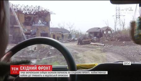 В Авдеевской промзоне боевики пытались штурмовать позиции украинской армии