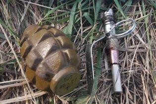 На Хмельнитчине в руках у подростка взорвалась граната