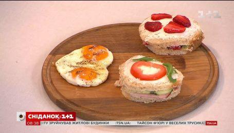 Руслан Сеничкин приготовил романтический завтрак в прямом эфире