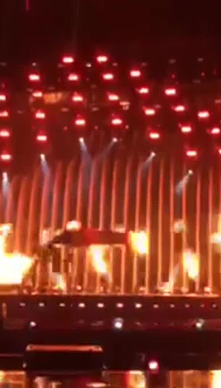 """MELOVIN провів репетицію свого номера перед гранд-фіналом """"Євробачення-2018"""""""