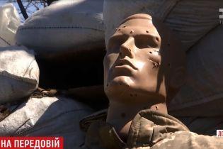 """Манекен """"Петр"""" оставил в дураках российских снайперов на передовой возле Мариуполя"""