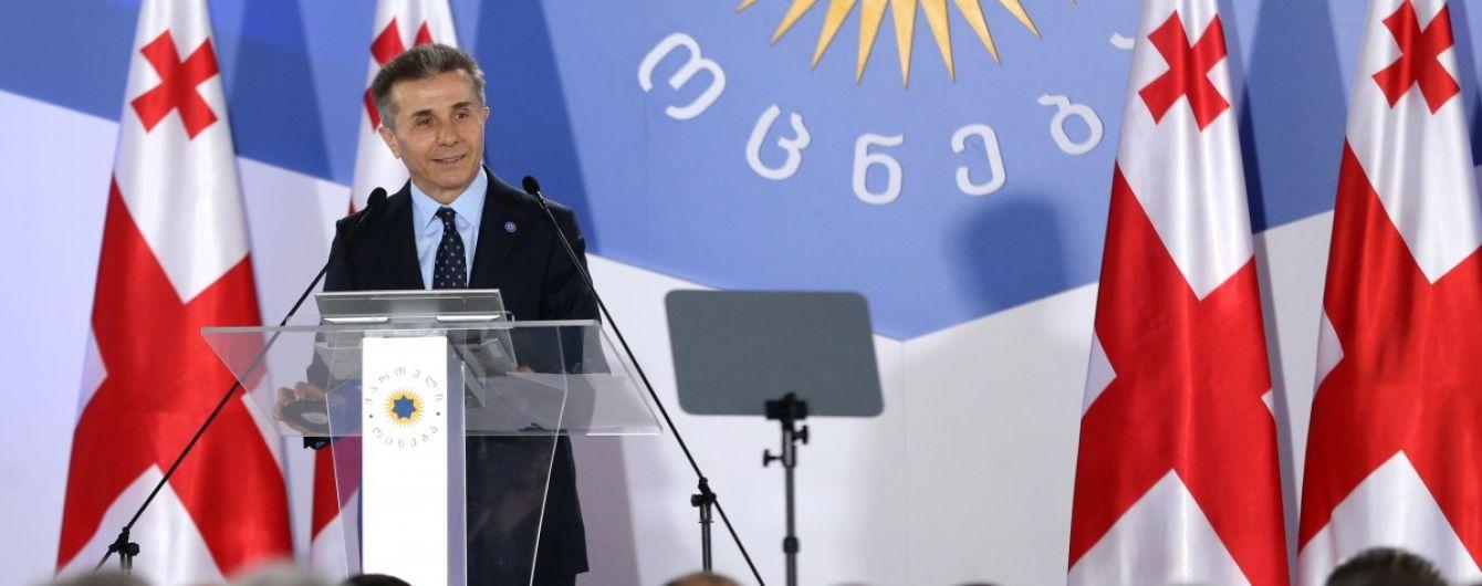 Мільярдер Іванішвілі очолив керівну партію Грузії і заявив про надію відновити діалог з РФ
