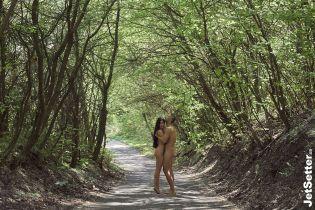 Обнаженные Сергей и Снежана Бабкины снялись в эротической фотосессии