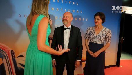 """Георгій Дєлієв і Наталія Бузько розповіли про зйомки у фільмі """"Донбас"""""""