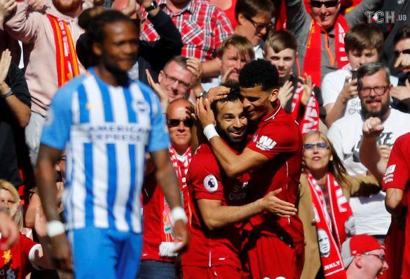 Радість футболістів Ліверпуля
