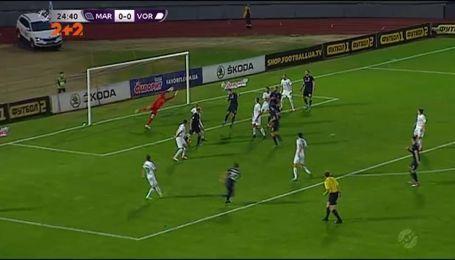 Маріуполь  - Ворскла - 1:1. Відео матчу