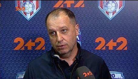 """""""Хлопець мусить подумати"""": Вернидуб пояснив, чому в матчі проти Динамо не було Юрі"""