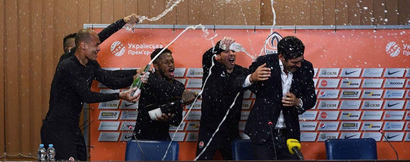 """Сорванная пресс-конференция и танцы в раздевалке. Как """"Шахтер"""" праздновал чемпионство"""