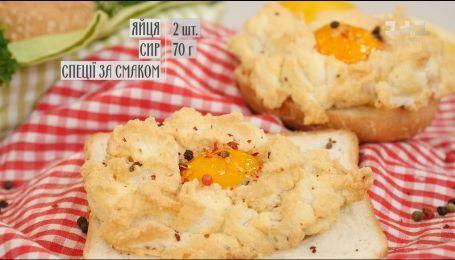 Омлет-облачко - рецепты Сеничкина