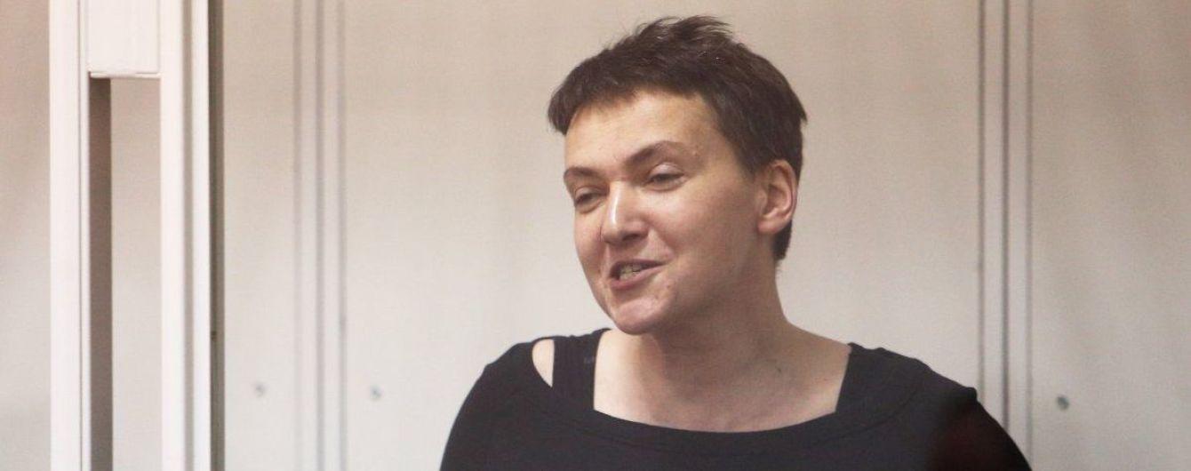 Савченко отказалась от адвокатов и обратилась к Путину