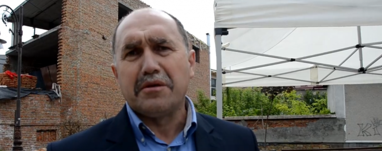 На Львовщине мэр объявил голодовку