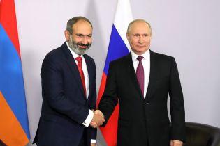 Пашинян уперше поговорив із Путіним після обрання