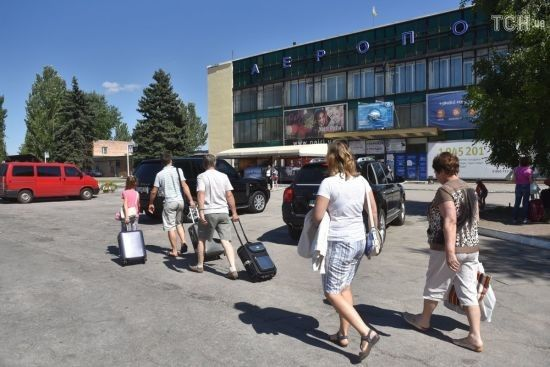 Аеропорт Запоріжжя частково закривається на ремонт