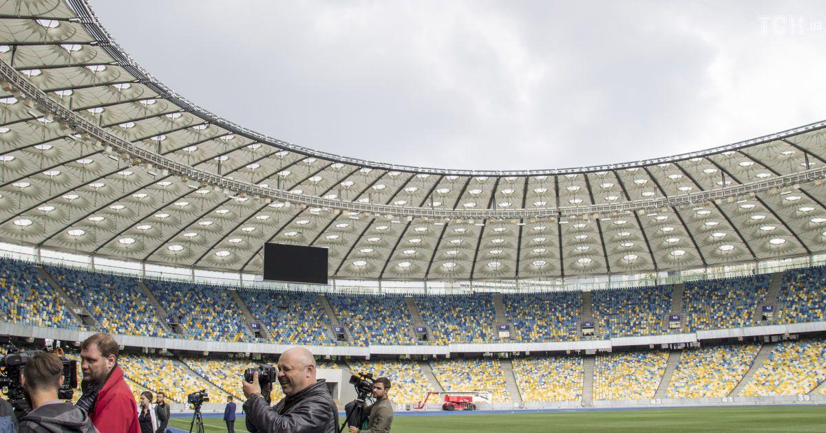 """НСК """"Олімпійський"""" готують до фіналу Ліги чемпіонів, який відбудеться 26 травня.  Фото - Надія Мельниченко"""