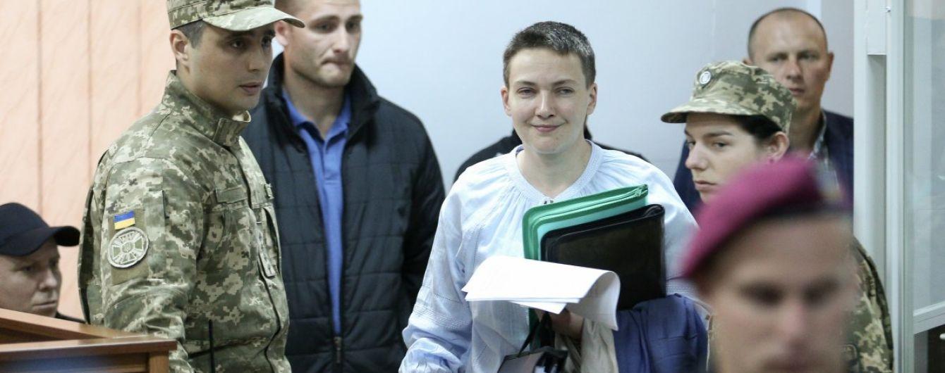 Суд удовлетворил отвод судьи, который рассматривал дело Савченко