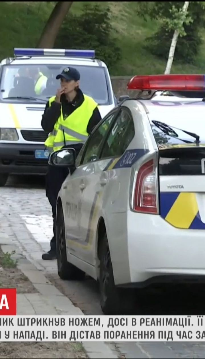 У Львові прооперували поліцейську, яку вдарив ножем водій-учасник ДТП