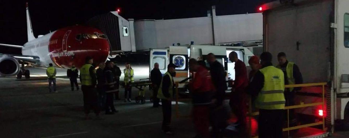 Аэропорт Львова экстренно принял самолет Norwegian
