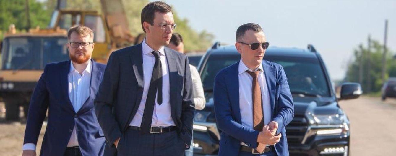 Володимир Омелян: Дніпропетровська область стала лідером з ремонту доріг державного значення