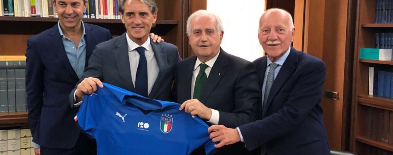 Манчіні став новим головним тренером збірної Італії
