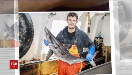 Британская береговая охрана спасла рыбака, на которого напала акула