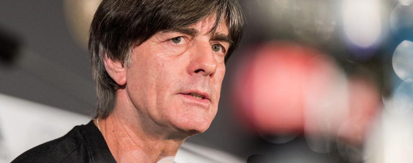 Збірна Німеччини подовжила контракт з головним тренером перед ЧС-2018