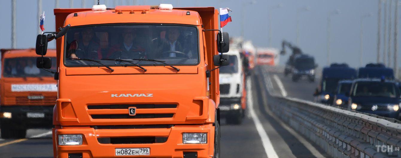 """""""Дозволу ні в кого питати не будемо"""". У Росії відповіли США через засудження зведення Кримського мосту"""
