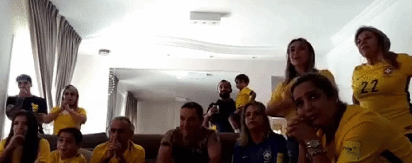 Як треба радіти виклику до збірної. Сім'ї бразильських футболістів несамовито шаленіли, ніби вже виграли ЧС-2018