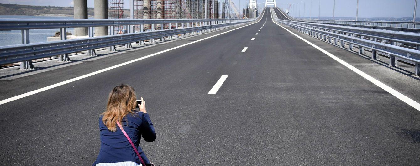 Прокуратура назвала суму збитків від Кримського моста
