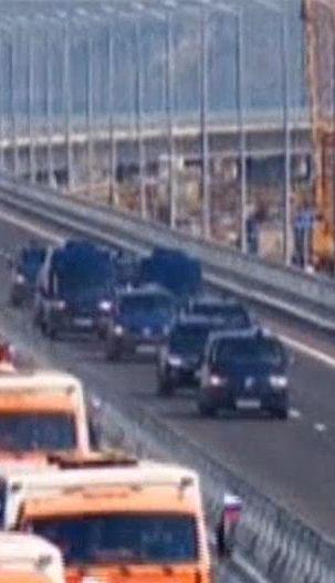 """Российские оккупанты планируют открыть """"Крымский мост"""" для легковых автомобилей"""