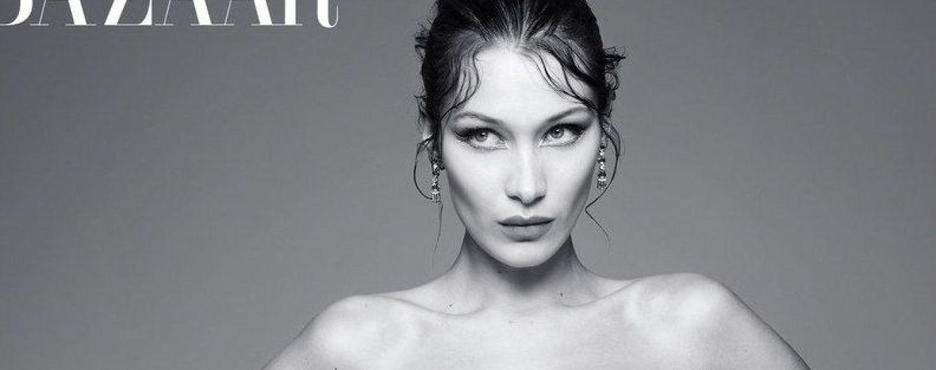 Секси-красотка: Белла Хадид в новых образах предстала в глянцевом фотосете