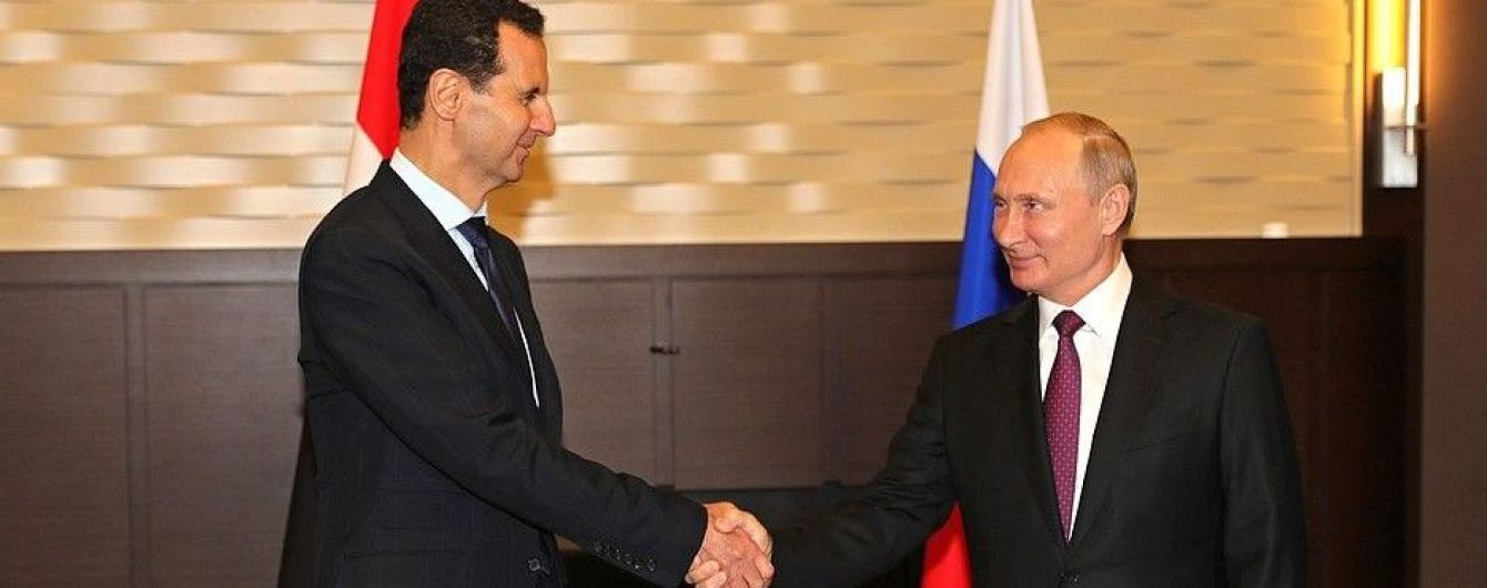 Башар Асад зустрівся з Путіним у Сочі