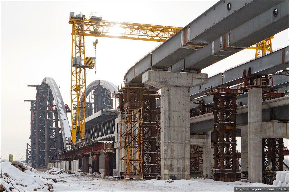 мост на Троещину