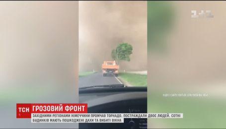 Германия оправляется от мощного торнадо