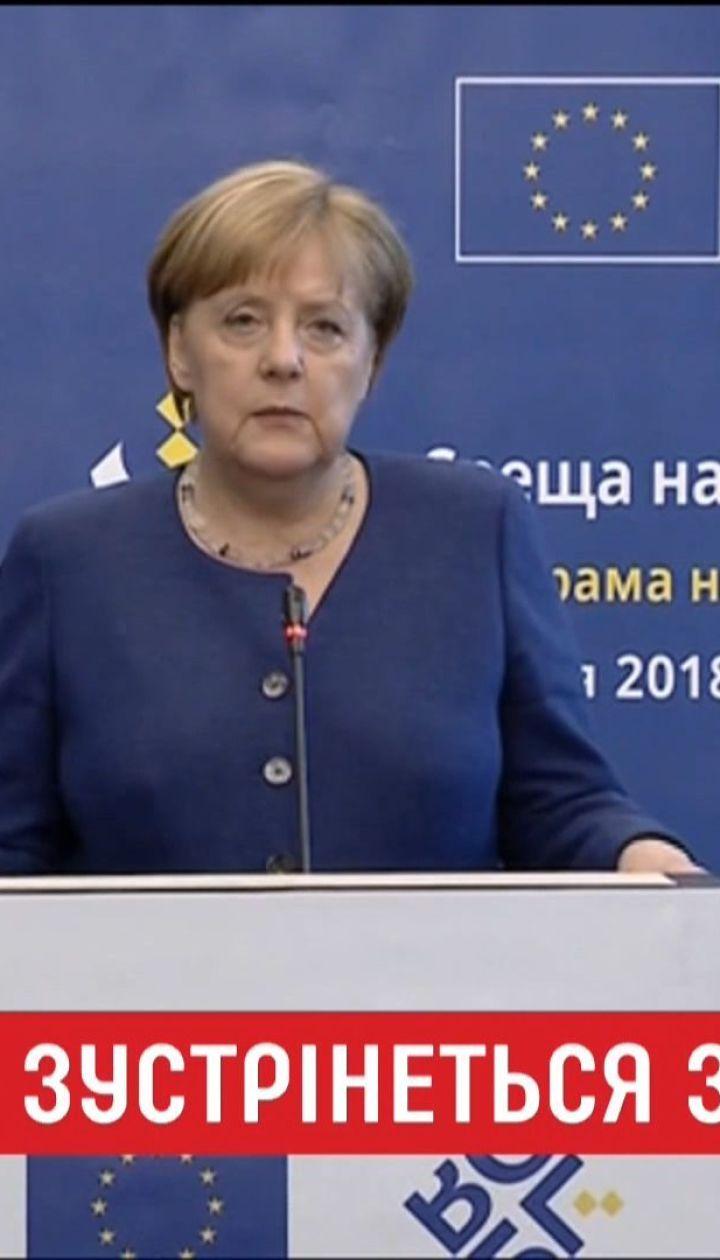 Ангела Меркель прилетит в Сочи, чтобы поговорить с Путиным о войне на Донбассе