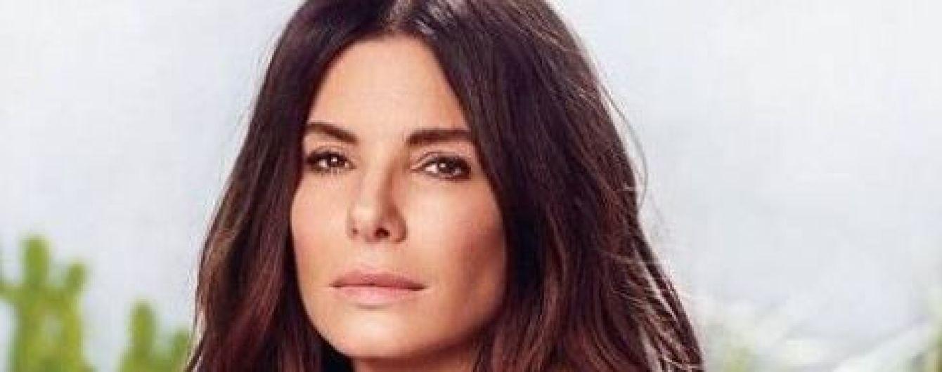 """53-летняя Сандра Буллок призналась, что омолаживается благодаря """"пенисным процедурам"""""""