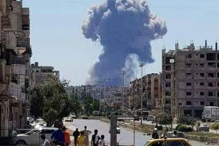 Более десятка погибших: на сирийской авиабазе произошла серия мощных взрывов