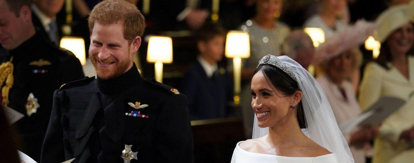 Офіційно: принц Гаррі та Меган Маркл стали чоловіком та дружиною