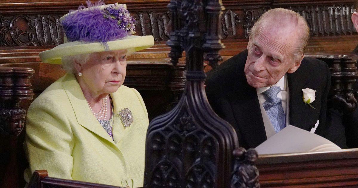 Королева Єлизавета ІІ з чоловіком