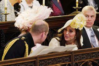 Весілля принца Гаррі та Меган: Кейт Міддлтон вперше вийшла в світ після народження сина